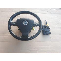 Volkswagen Golf V-Jetta-Passat mulifunkciós bőr kormánykerék+légzsák elektronikával
