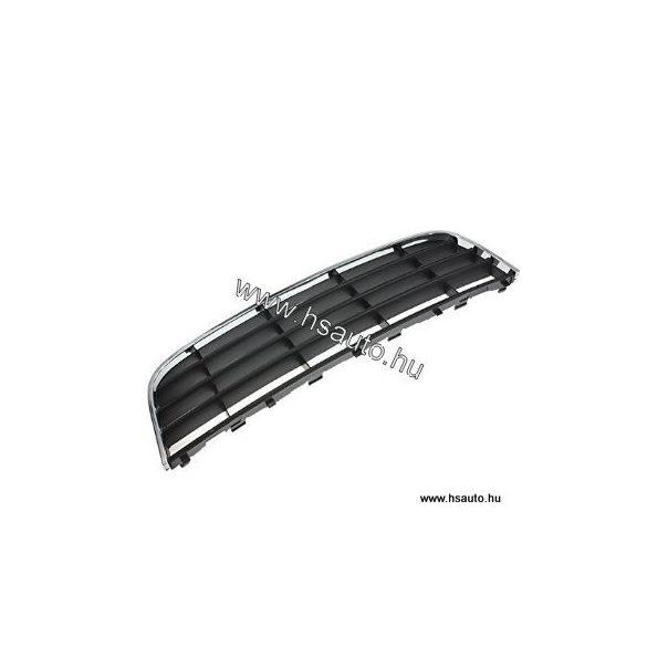 Volkswagen Golf V-Jetta lökhárító betét középső krómcsíkos