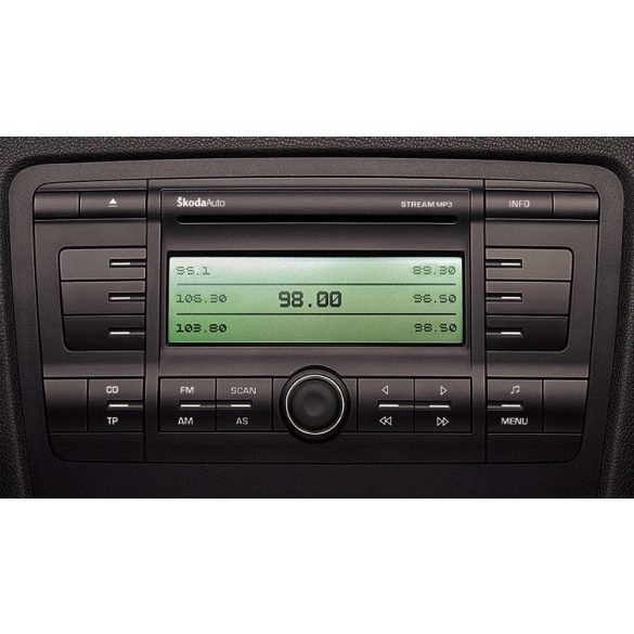 Skoda Octavia CD-s,MP3-as rádió STREAM