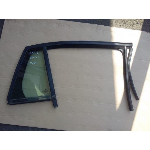 Skoda Fabia II kombi fix üveg jobb hátsó ajtóba