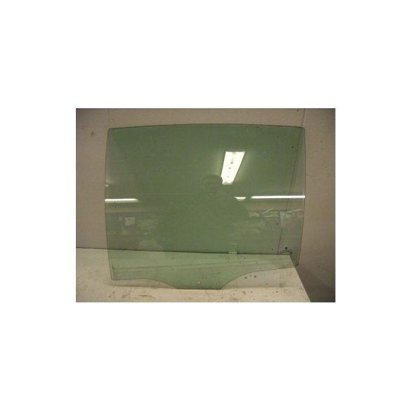 Skoda Fabia hátsó oldalüveg ajtóba zöld